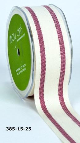 Variation #154810 of 1.5 Inch Cotton / Stripes Ribbon