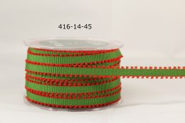 Variation #154934 of 1/4 Inch Grosgrain Ribbon w/ Picot Edge