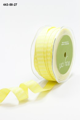 Variation #155219 of 5/8 Inch Woven Chevron Stripes / Wired Ribbon