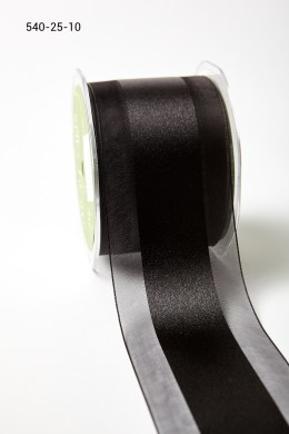 Variation #157362 of 2.5 Inch Sheer with Satin Center Ribbon