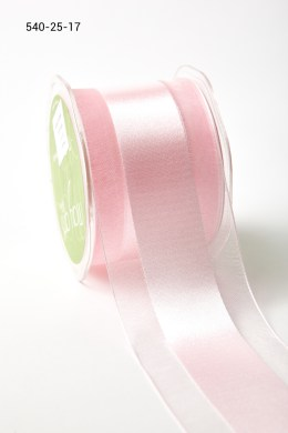 Variation #157364 of 2.5 Inch Sheer with Satin Center Ribbon