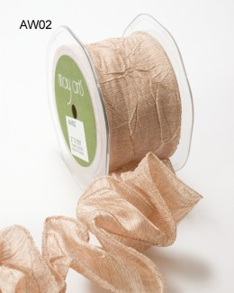 Variation #148613 of 2 Inch Solid Crushed Wired Ribbon