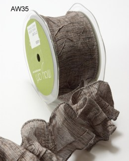 Variation #148621 of 2 Inch Solid Crushed Wired Ribbon