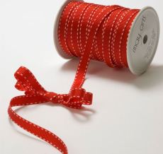 Variation #148668 of 3/8 Inch Grosgrain Stitched Edge Ribbon