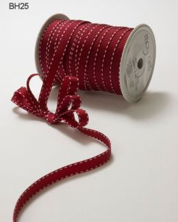 Variation #148673 of 3/8 Inch Grosgrain Stitched Edge Ribbon