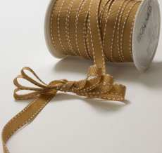 Variation #148674 of 3/8 Inch Grosgrain Stitched Edge Ribbon