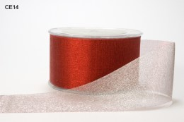 Variation #149128 of 2 Inch Sheer Reversible Ribbon