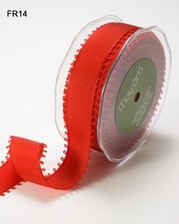 Variation #150057 of 1 Inch Grosgrain Loop Edge Ribbon