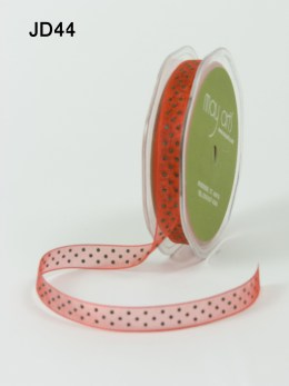 Variation #150782 of 3/8 Inch Sheer Dots Ribbon