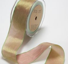 Variation #150924 of 1/4 Inch Woven Iridescent Ribbon