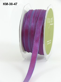Variation #151215 of 3/8 Inch Solid Two Toned Wired Ribbon