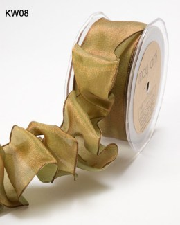 Variation #151222 of 1.5 Inch Woven Iridescent Wired Ribbon