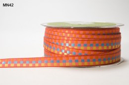 Variation #151409 of 3/8 Inch WOVEN CHECK Ribbon