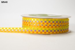 Variation #151411 of 3/8 Inch WOVEN CHECK Ribbon