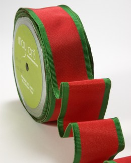 Variation #151487 of 1.5 Inch HOLIDAY PRINTS/WIRED Ribbon