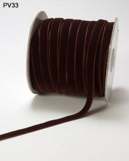 Variation #0 of 3/8 Inch Velvet Woven Ribbon
