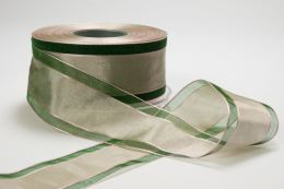 Variation #152186 of 1.5 Inch Sheer Center Band Ribbon