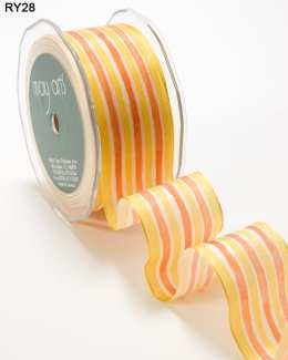 Variation #152521 of 1.5 Inch Solid Stripes Wired Ribbon