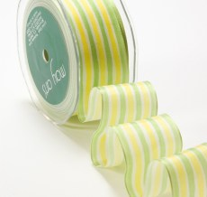 Variation #152523 of 1.5 Inch Solid Stripes Wired Ribbon