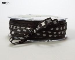 Variation #152580 of 3/8 Inch Solid Center Dot Ribbon