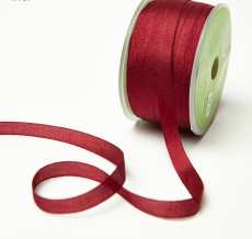 Burgundy Silk Ribbon