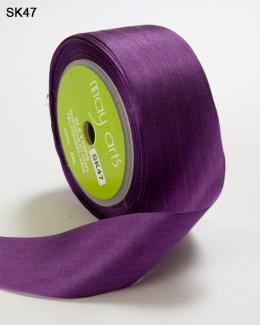 Violet Silk Ribbon