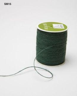 Green Burlap String Ribbon