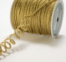 Gold Metallic Cording Ribbon