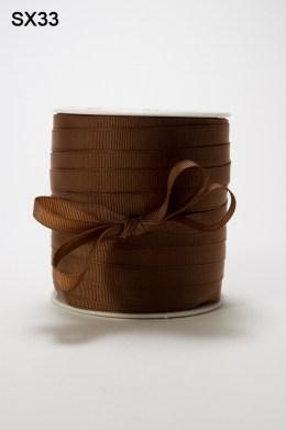 Brown Grosgrain Ribbon