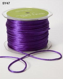 Violet 100 Yards Satin String