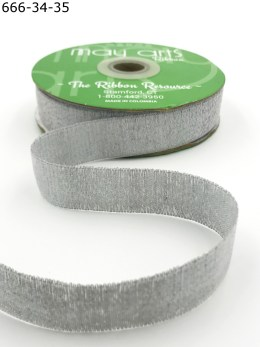 silver holographic metallic ribbon