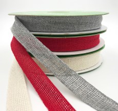 "3/4"" soft open weave gauze ribbons"