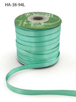 robin's egg blue tiffany blue double face satin ribbon