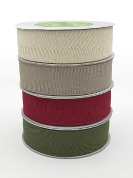 twill cotton ribbons