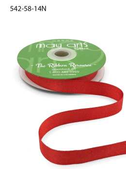 red glitter sparkle woven ribbon