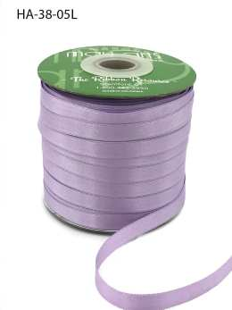 lavender light purple double face satin ribbon