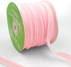light pink fuzzy grosgrain ribbon