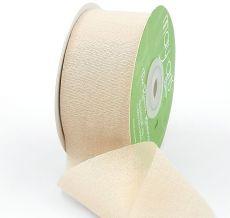nude silk rayon ribbon