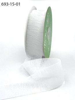white heirloom thread ribbon