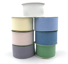 crinkle chiffon wedding ribbons