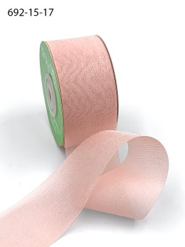 light pink iridescent organza ribbon