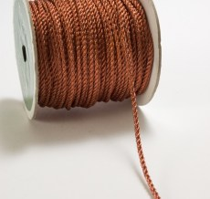 2 Millimeter CORDING Ribbon - ST2C - COPPER METALLIC