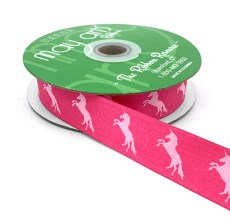 Hot Pink Unicorn Ribbon