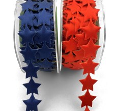 American Stars Adhesive Ribbon Decorative Tape
