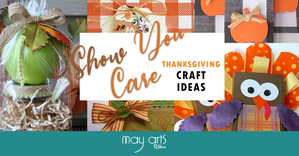 Thanksgiving Craft Ideas with Ribbon