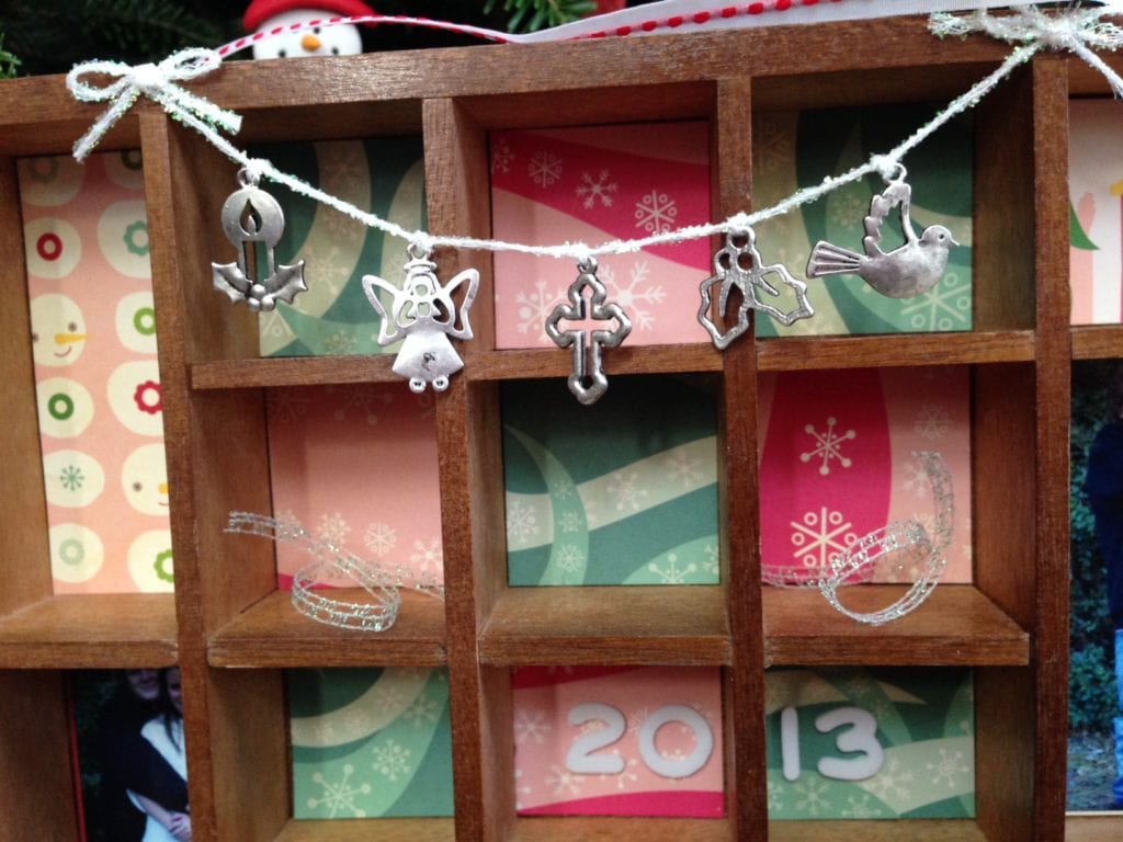 Christmas Themed Altered Printers Tray