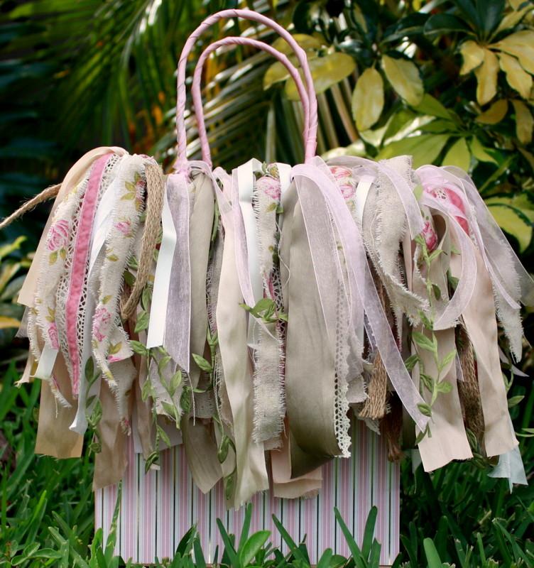 Shabby Chic Ragamuffin Gift Bag