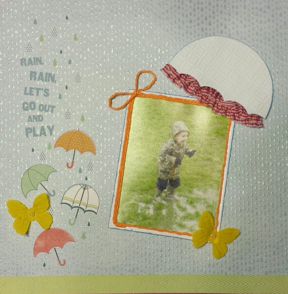 Rainy Day Layout