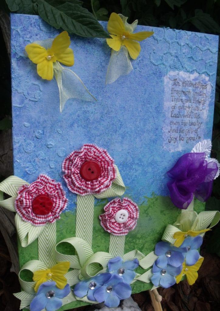 Flowers & Friends Canvas
