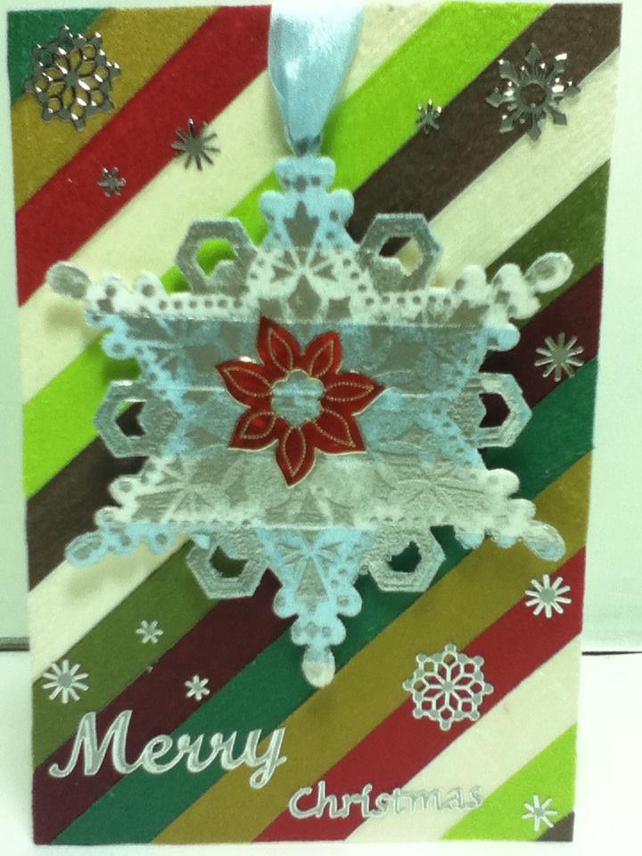May Arts Christmas Card Challenge